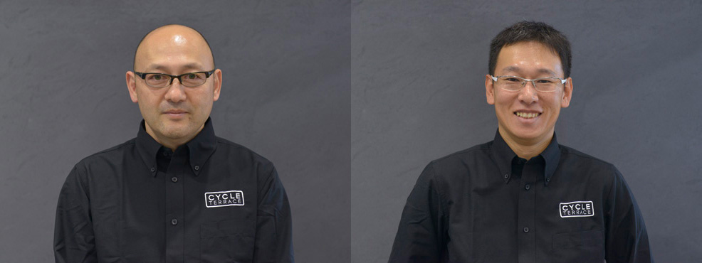 自転車の 自転車 千葉市美浜区 : 館長 関田 朗 店長 小川 浩太郎